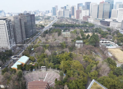 High above Tokyo – The perfect location