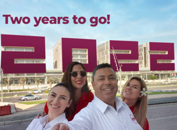 """Qatar celebrates """"2 years to go"""" – Search for accommodation has started"""